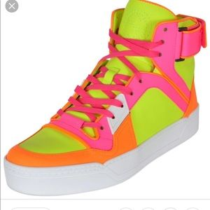 83a4e8946aec Women s Gucci Neon Sneakers on Poshmark